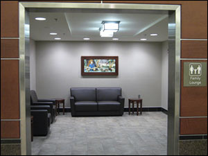 Image of the family lounge.